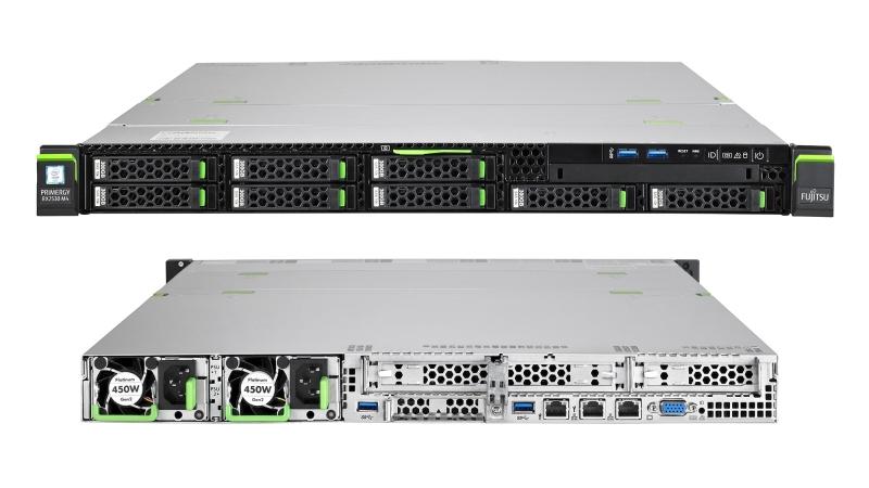 Узел Fujitsu PRIMEFLEX RX2530 M5 в форм-факторе 1U