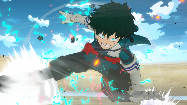 Файтинг My Hero One's Justice 2 выйдет 13 марта