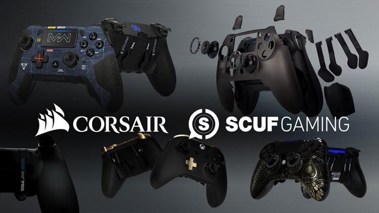 """Corsair купила производителя высококлассных игровых контроллеров SCUF Gaming"""""""