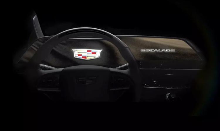"""Новый Cadillac Escalade впервые в мире получит огромный изогнутый OLED-дисплей"""""""