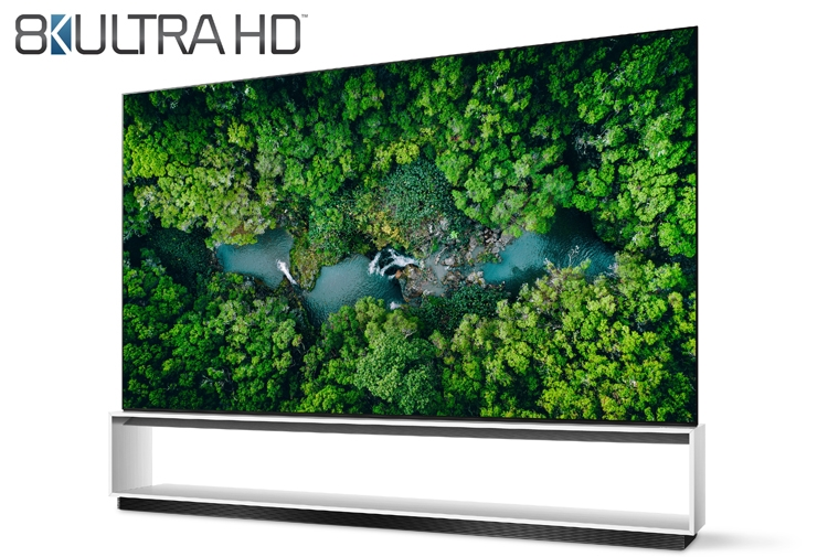 """Телевизоры LG первыми в мире превзошли требования к панелям 8K Ultra HD"""""""