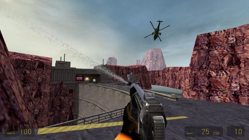 В Half-Life было все, что можно придумать для шутера. Битва с вертолетом в том числе