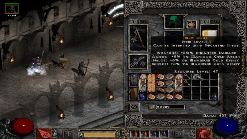 Инвентарь и кукла персонажа в Diablo 2 похищали душу. В третьей части все здесь стало скромнее