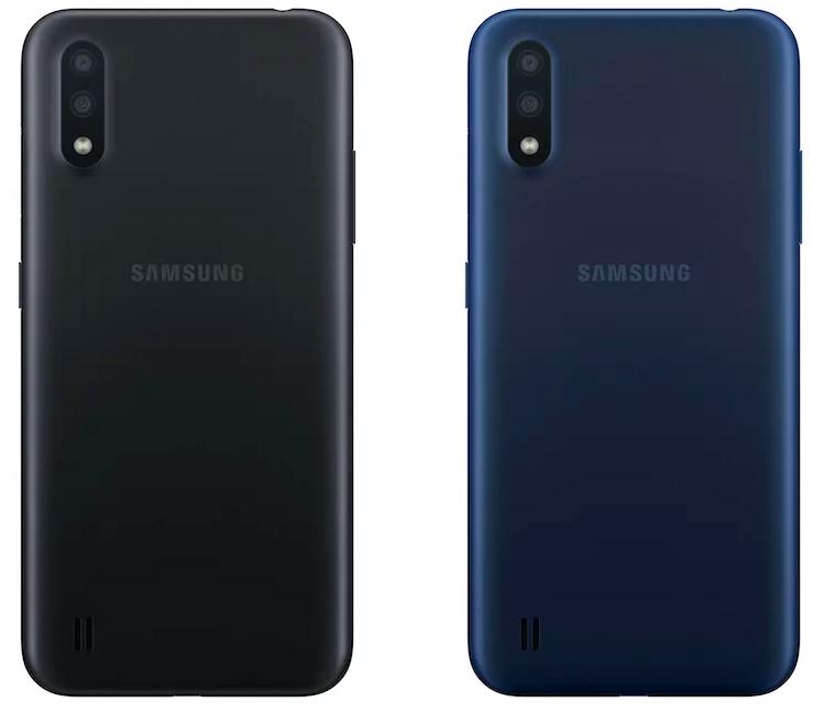 """Начальный уровень: представлен смартфон Samsung Galaxy A01"""""""