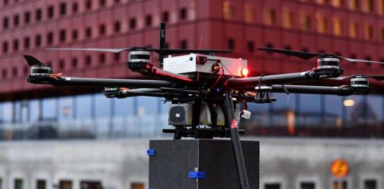 Беспилотный дрона по доставке товаров института RISE