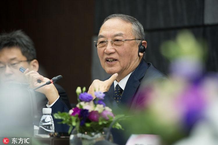 Лю Чуанжи в июне 2018 года на пресс-конференции в Пекине