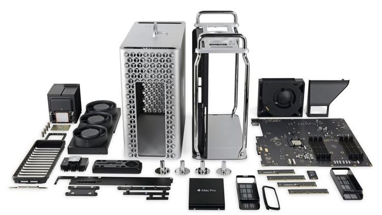 """Девять из десяти: новый Mac Pro стал одним из самых ремонтопригодных продуктов Apple"""""""