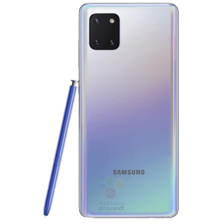"""Смартфон Samsung Galaxy Note 10 Lite красуется на рендерах в разных цветах"""""""
