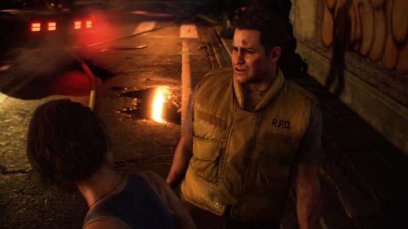 Брэд Викерс в дебютном трейлере ремейка Resident Evil 3
