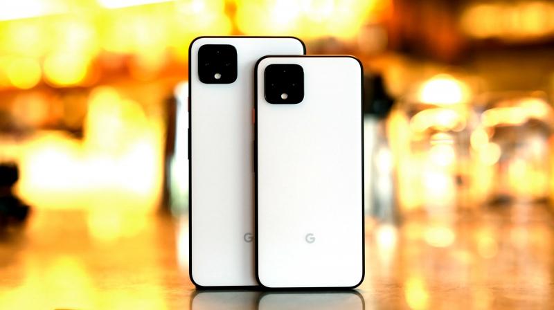 Google Pixel 4 и Google Pixel 4 XL (фото Engadget)