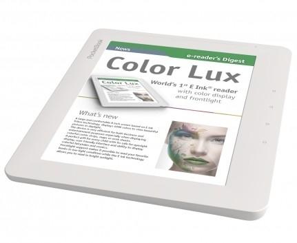 Первая цветная электронная книга PocketBook Color Lux на экране E Ink