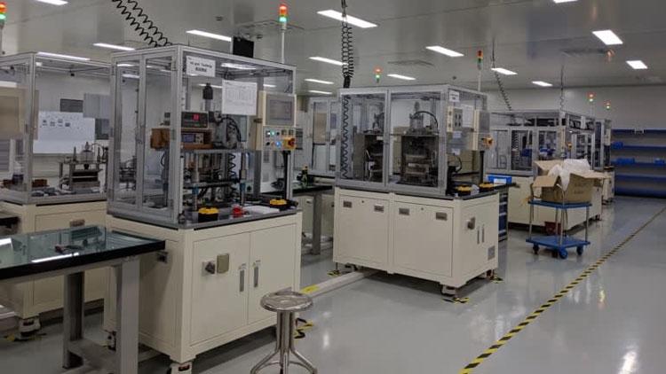 На заводе SolidEnergy