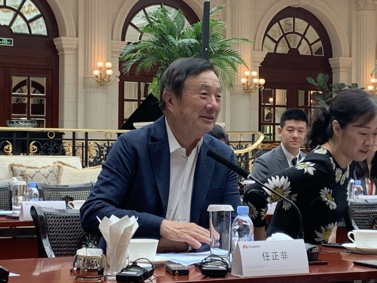 Основатель Huawei Рен Чжэнфэй (Ren Zhengfei) [Фото: Global Times]