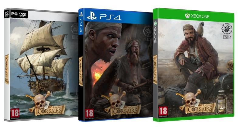 Судя по всему, обложки физических изданий не финальные — на них изображены концепт-арты игры