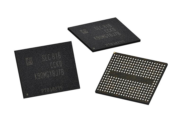 Микросхемы 96-слойной 3D NAND производства Samsung