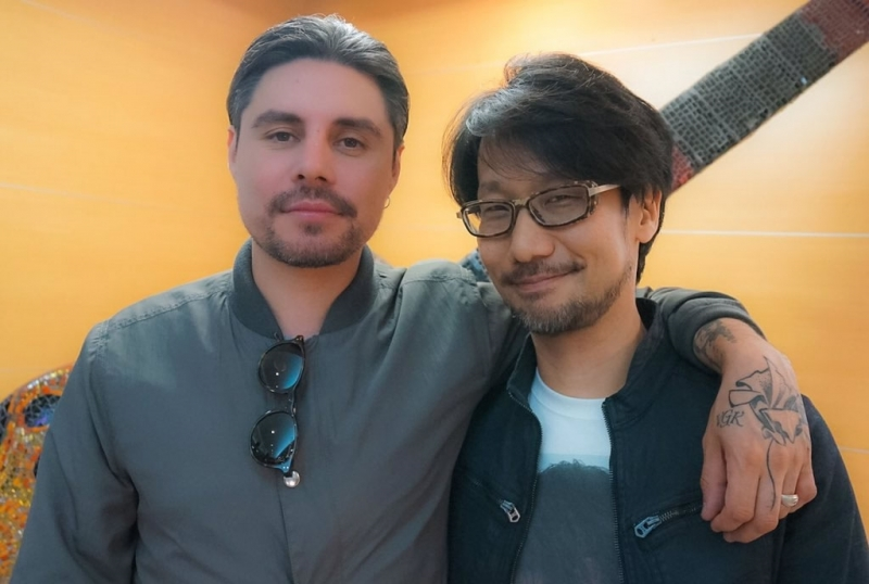 Райан Каразиа (слева) и Хидео Кодзима (справа)