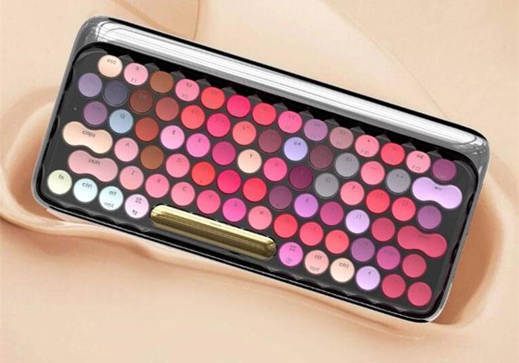 Xiaomi представила механическую Bluetooth-клавиатуру в стиле губной помады за $95