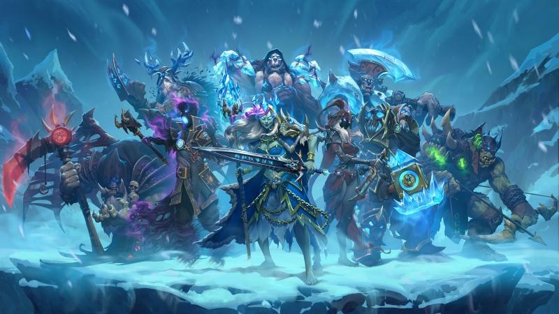 В мире Warcraft снежная обитель населена сплошь неприятными товарищами