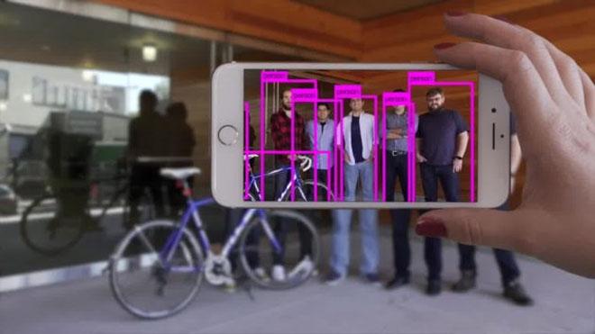 Пример работы платформы Xnor.ai по распознаванию объектов смартфоном Apple (Xnor.ai)