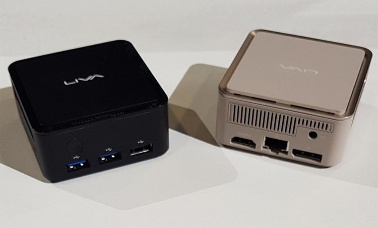 ECS Liva Q1: мини-компьютер на платформе Intel Apollo Lake, помещающийся на ладони