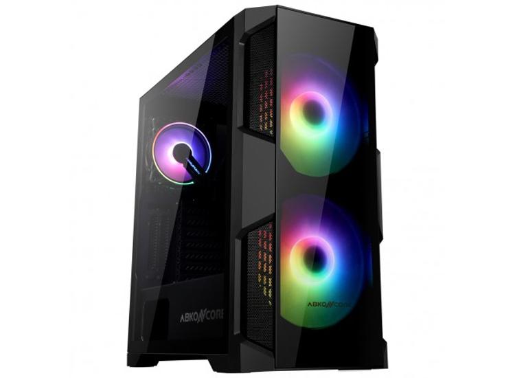 ПК-корпус X2 Helios 500G Sync: закалённое стекло и 200-мм вентиляторы с подсветкой