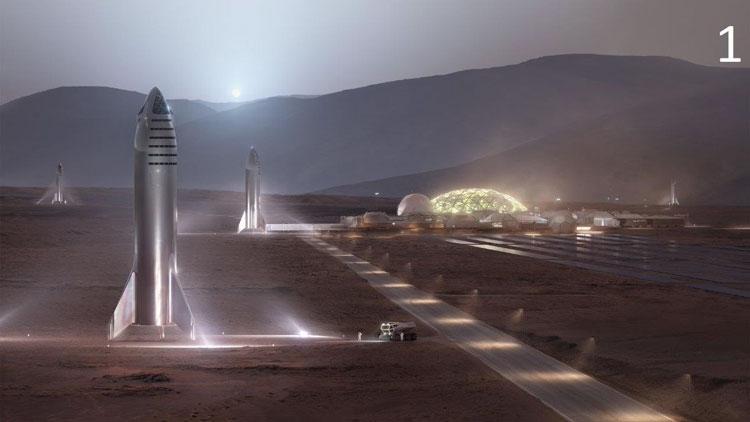 Марсианская колония (SpaceX)