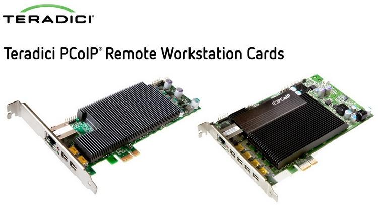 Примеры аппаратной реализации Teradici PCoIP