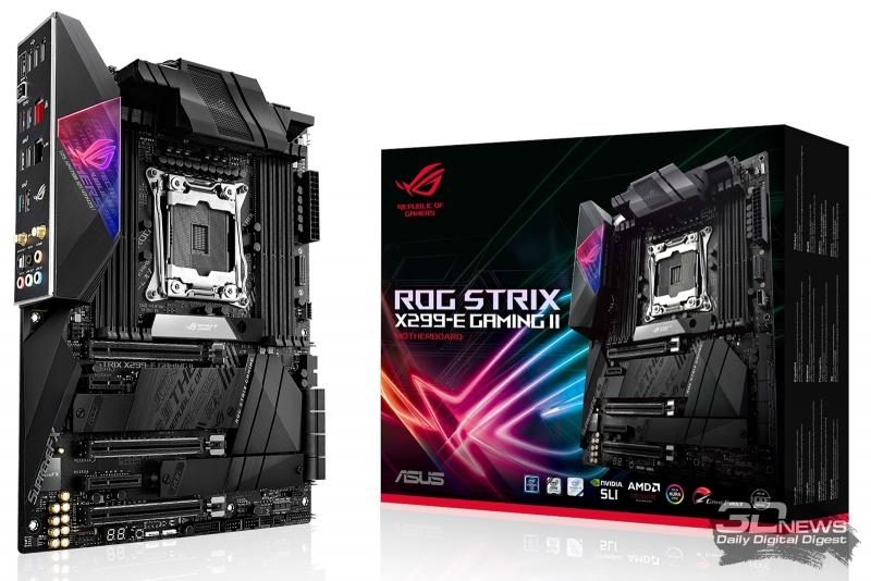 Обзор материнской платы ASUS ROG Strix X299-E Gaming II: издание третье, пересмотренное и дополненное