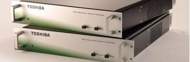 Оборудование Toshiba для распределения ключей квантвой криптографии