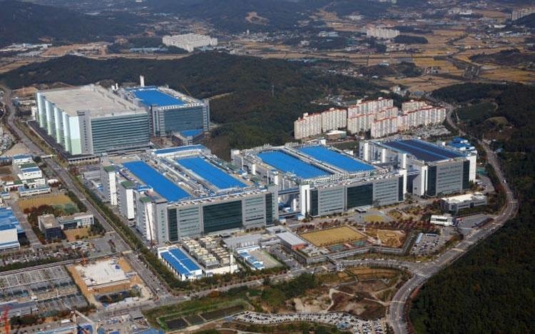 Завод Samsung A3 в Асане