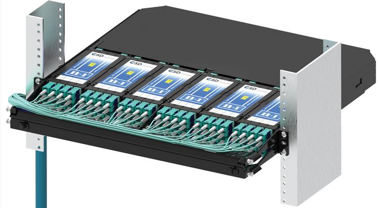 Модуль CSD n+1 с установленными кассетами