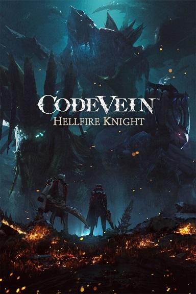 Постер дополнения Hellfire Knight к Code Vein