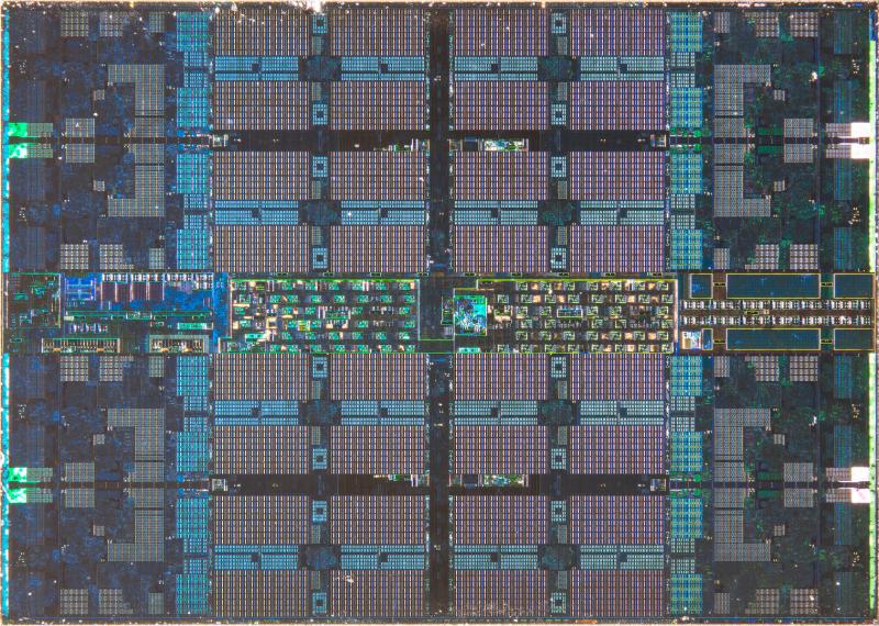 CCD-чиплет Zen2. Фото - Fritzchens Fritz