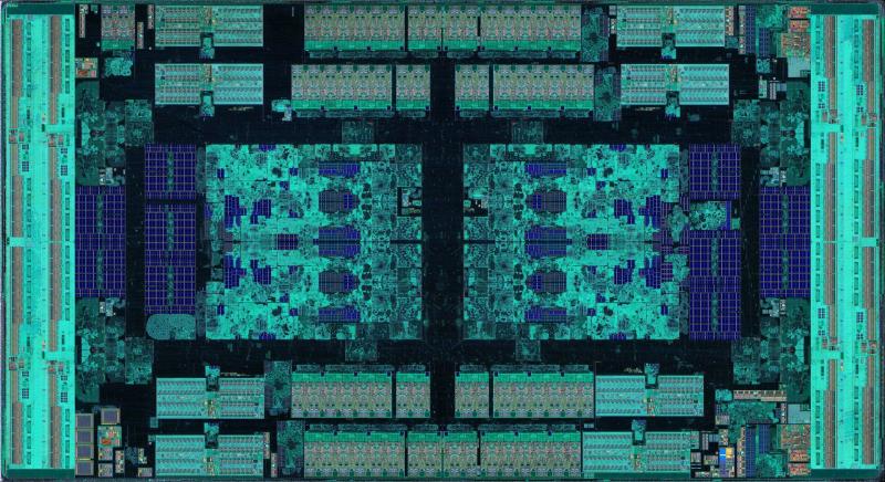 IOD-чиплет EPYC и Threadripper. Фото - Fritzchens Fritz