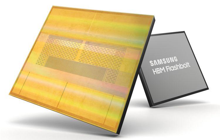 Samsung начнёт выпускать самую быструю память HBM2E в текущем полугодии