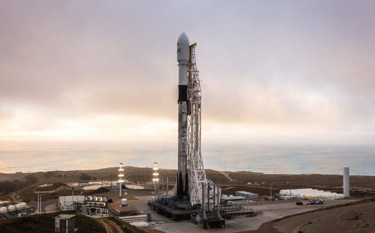 Подготовка к запуску Falcon 9