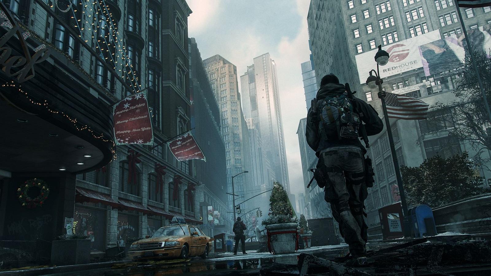 Обои здания, ubisoft entertainment, Tom clancys the division. Игры foto 16
