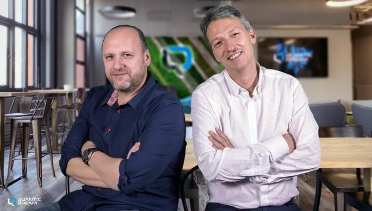 Главы Quantic Dream: Дэвид Кейдж и Гийом де Фондомьер
