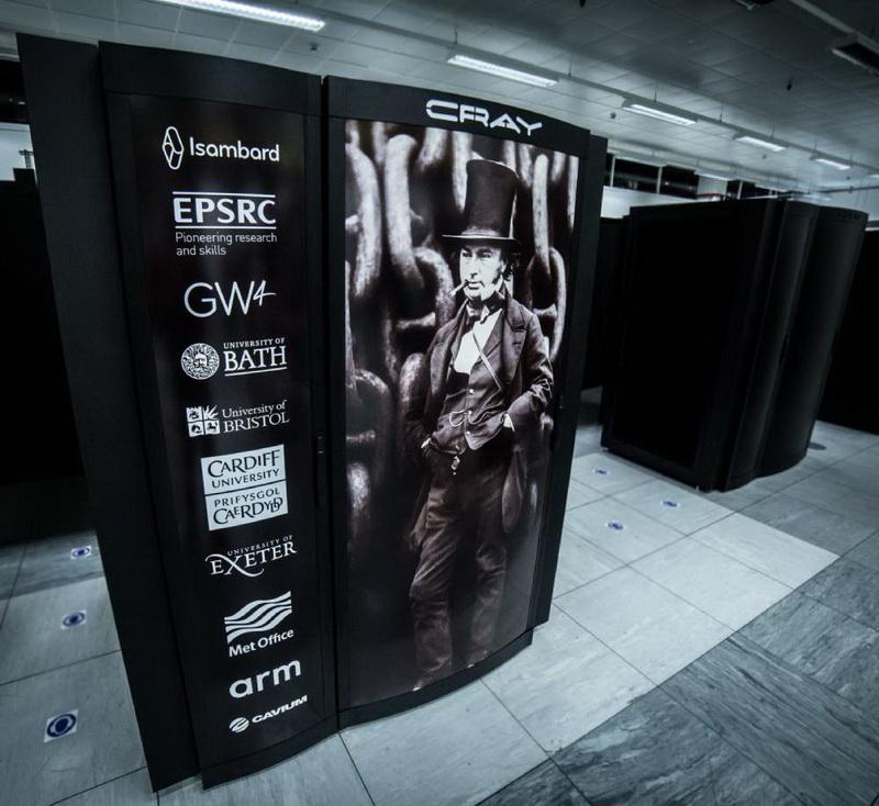 Суперкомпьютеры серии Isambard носят имя британского инженера Изамбарда Кингдома Брюнеляь