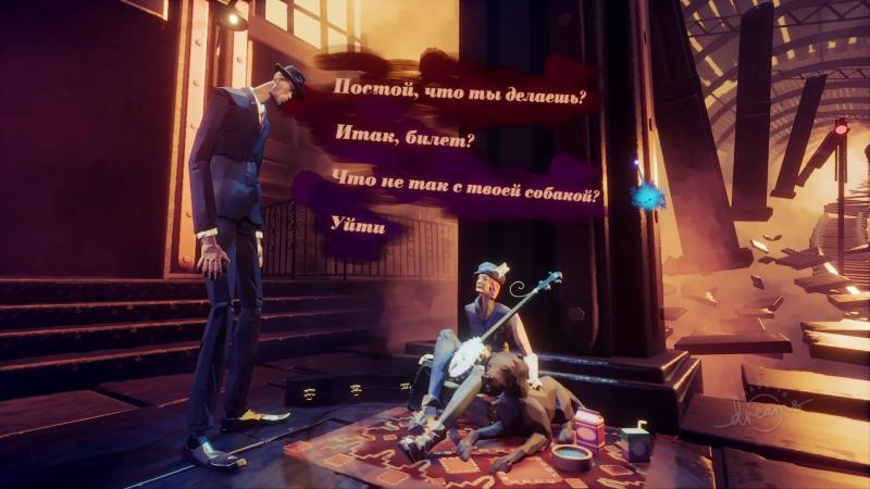 Озвучение и текст в «сюжетке» переведены на русский язык — получается, можно добавить в свои игры различные локализации