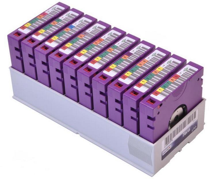 Ленточные картриджи LTO активно используются для перевозок больших объёмов кино-и видеоматериалов