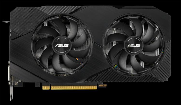 Ускоритель ASUS Dual GeForce RTX 2070 EVO V2 OC Edition может работать бесшумно