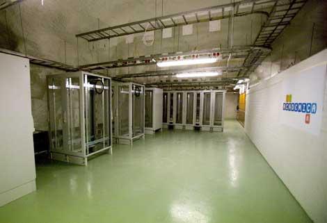 Идея не нова: подземный ЦОД в Хельсинки, 2011 год
