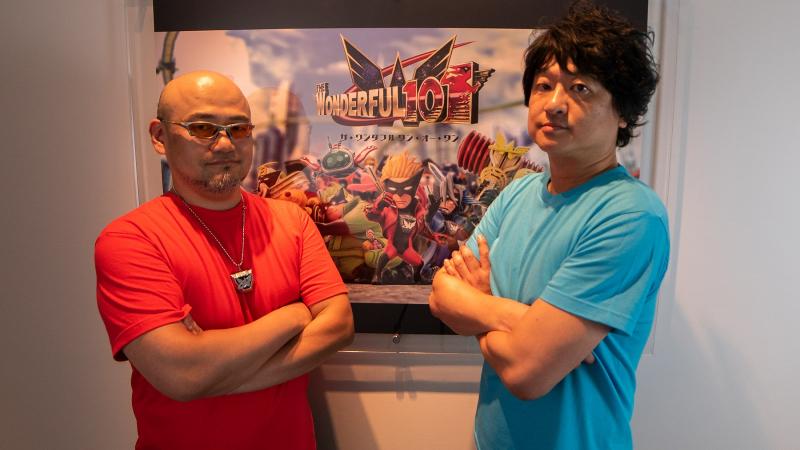 Хидеки Камия (слева) и Ацуси Инаба (справа)