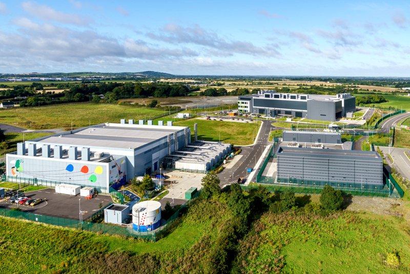 Дата-центр Google в г. Дублин, Ирландия
