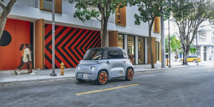 Ситроэн начнет торговать очень доступный иочень небольшой электромобиль