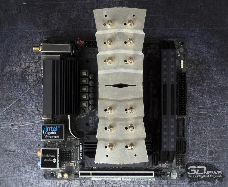Установка кулера Thermalright Archon на материнскую плату mini-ITX