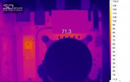 Нагрев ASRock Z390 Phantom Gaming-ITX/ac (нагрузка — Adobe Premier Pro 2019)