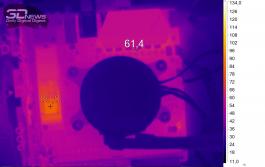 Нагрев ASUS ROG STRIX B450-I GAMING (нагрузка — Adobe Premier Pro 2019)