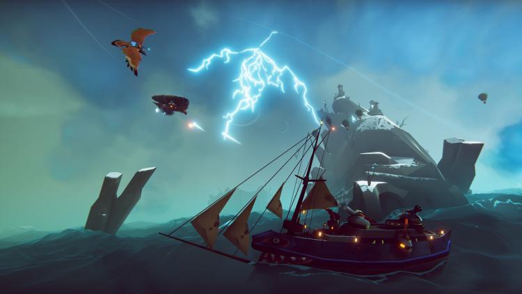 Видео: полёты на гигантском орле, сражения в небе и погодные эффекты в RPG The Falconeer